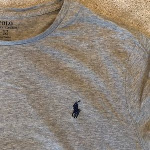 Grey Large Polo t-shirt